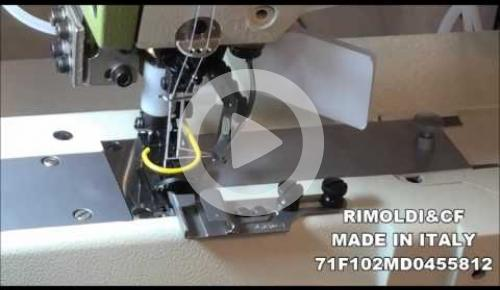 Embedded thumbnail for 71F-10-2MD-04/55812  CILYNDER BED SEWING MACHINE FOR TUBOLAR SEAMS ON UNDERWEAR, KNITWEAR, SWIMWEAR, CORSETRY