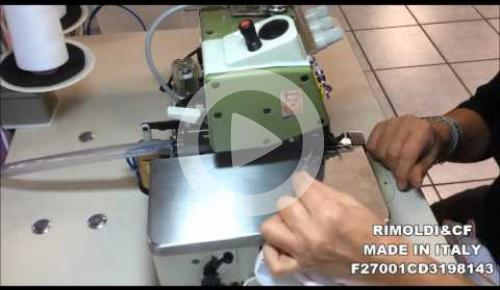 Embedded thumbnail for F27-00-1CD-31/98143  1 NEEDLE OVERLOCK MACHINE FOR ASSEMBLY SEAMS ON KNITWEAR AND SWIMWEAR