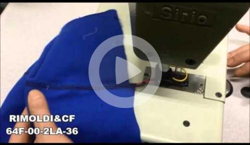 Embedded thumbnail for 64F-00-2LA-36   2 NEEDLES CHAIN STITCH FLAT BED MACHINE